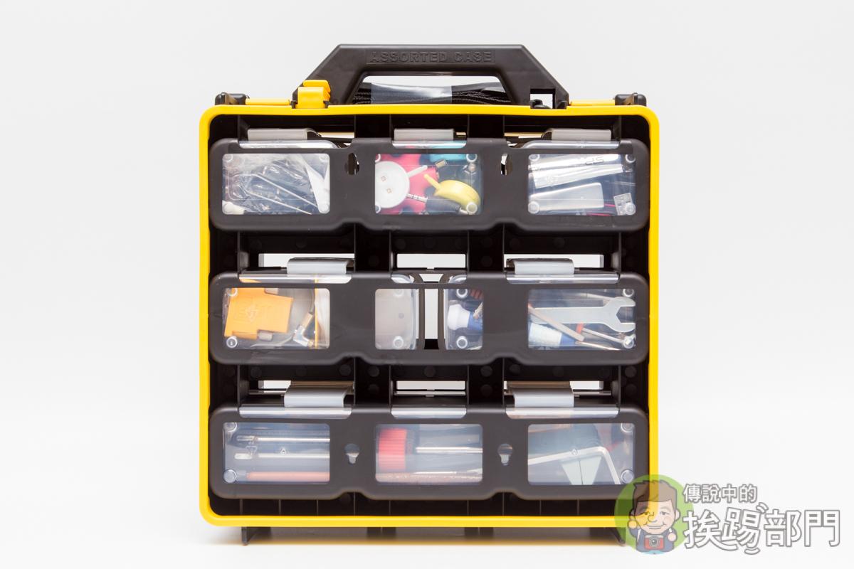 蝙蝠牌專業多功能零件收納盒