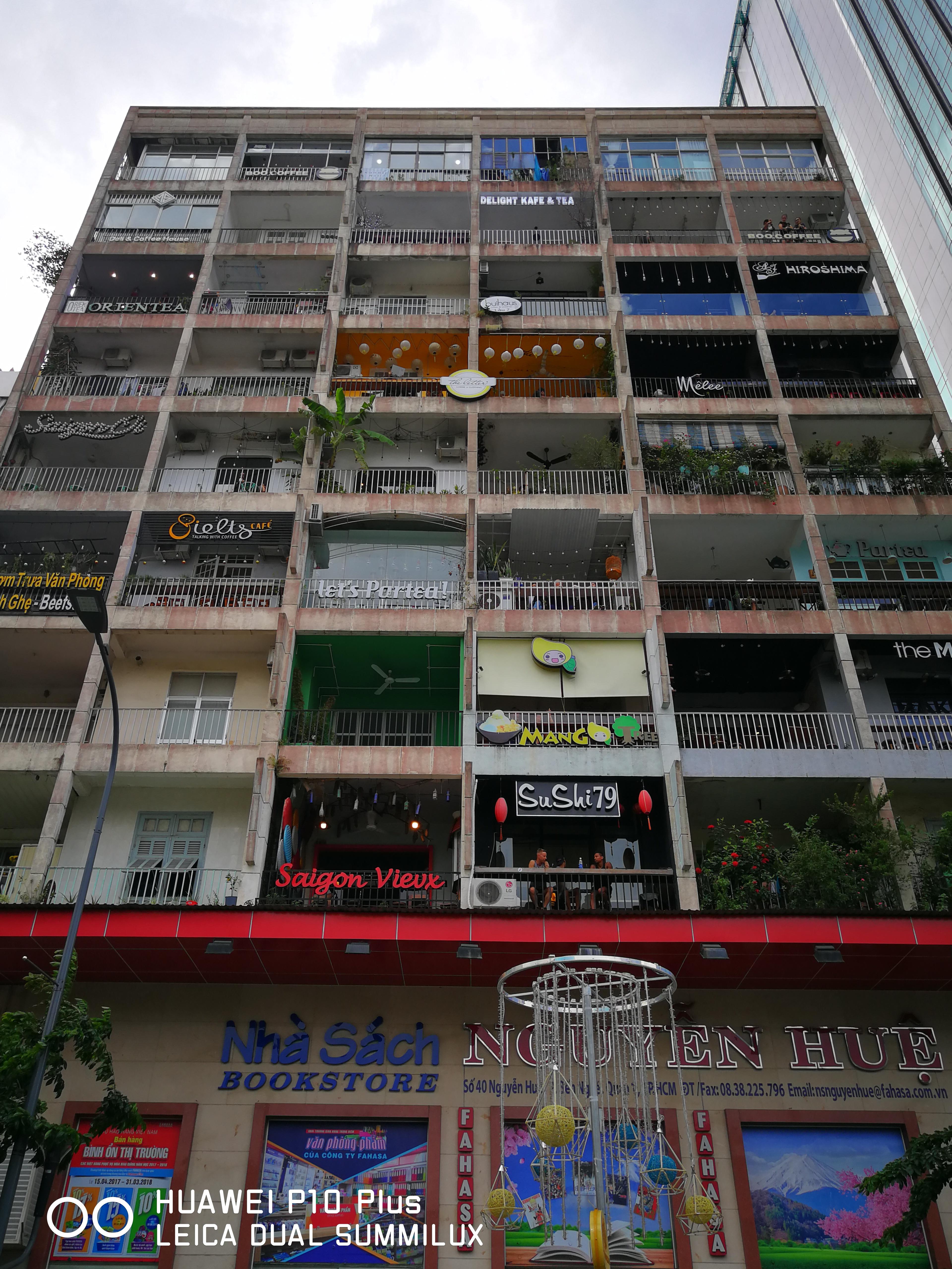 胡志明 咖啡公寓