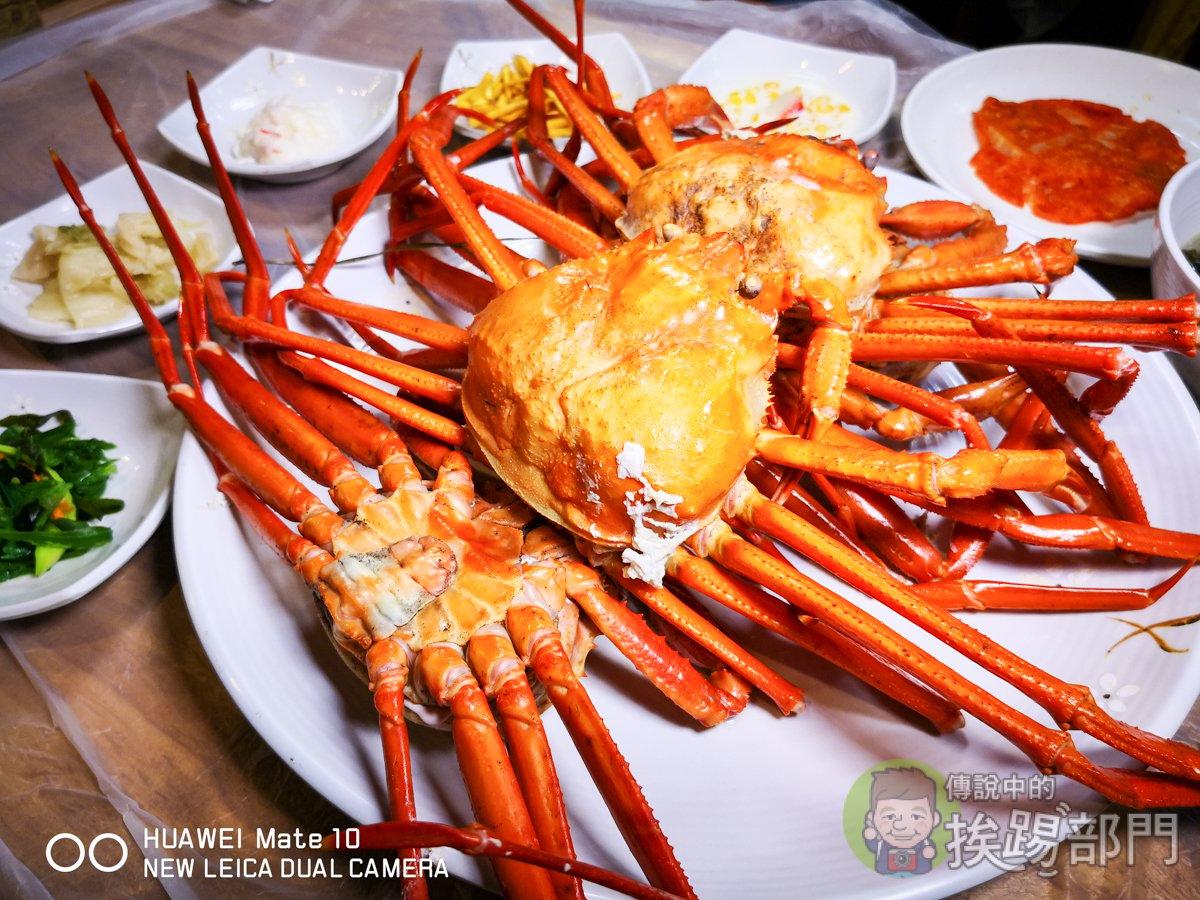 韓國釜山長腳紅蟹吃到飽