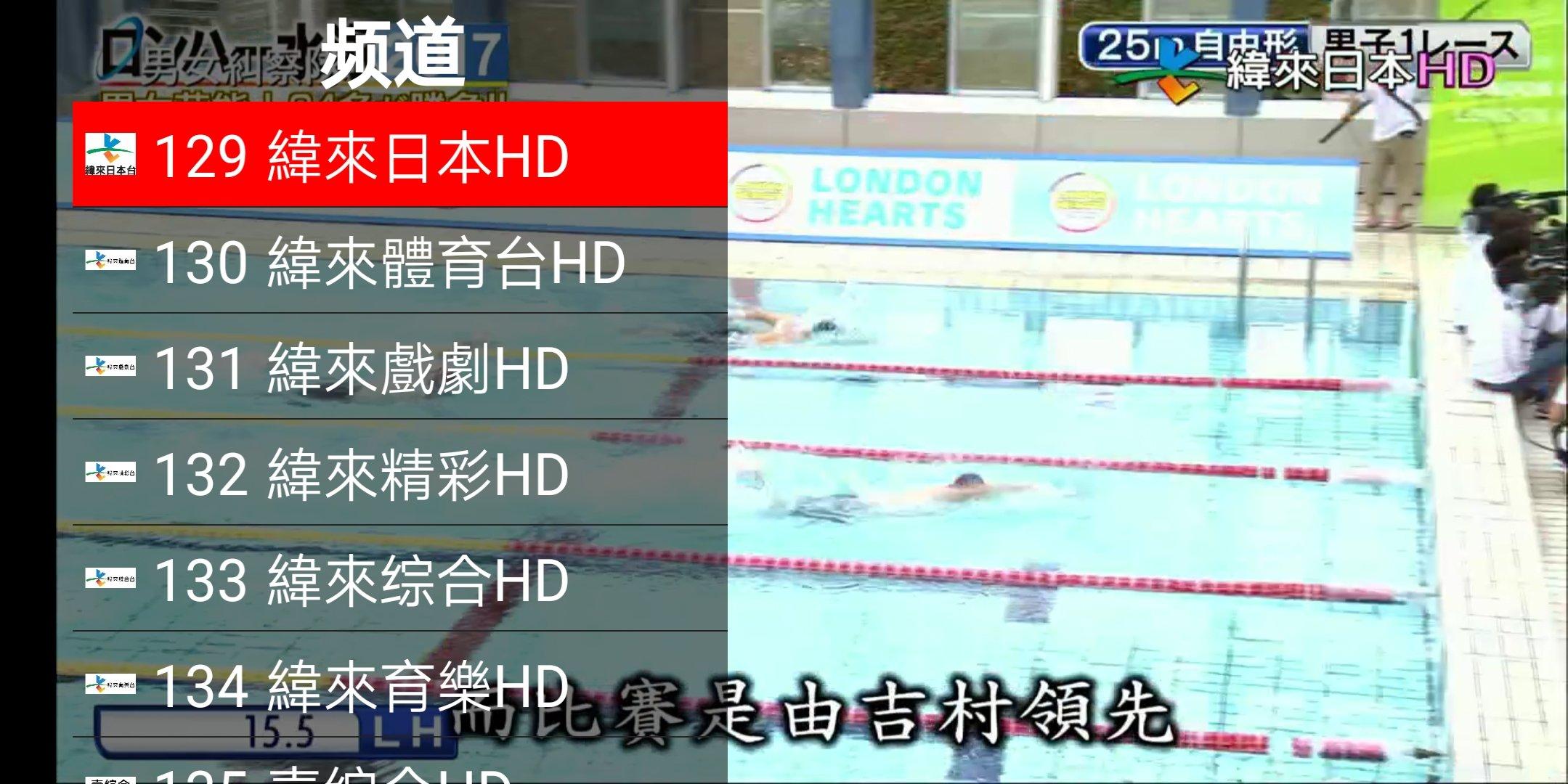 好運來網路 TV 0805版