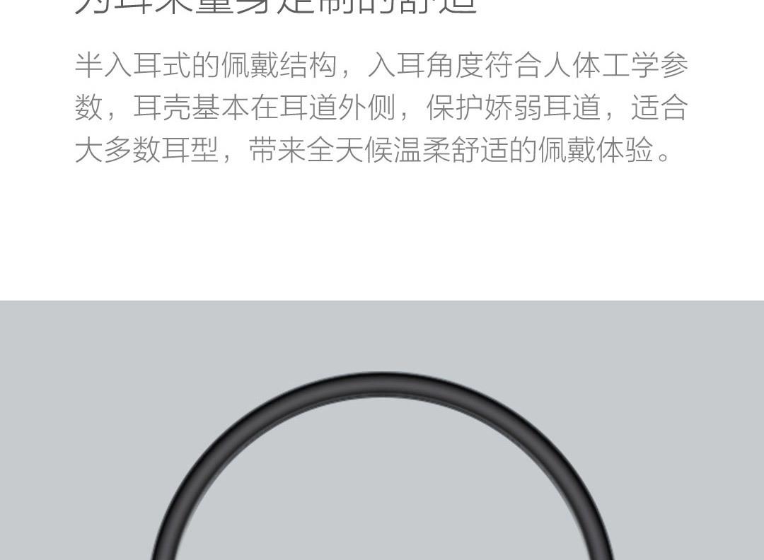 小米雙單元半入耳式耳機 Type-C版
