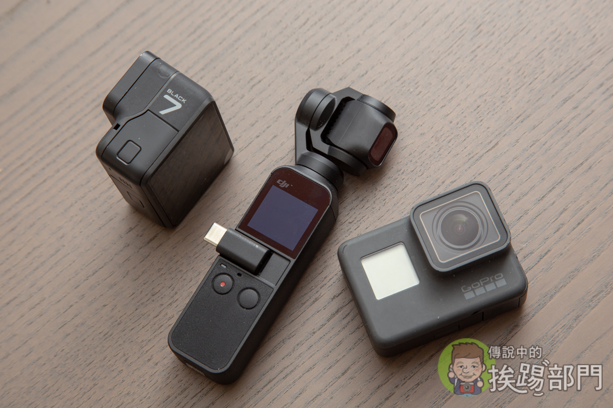DJI Osmo Pocket GoPro Hero 7 Black