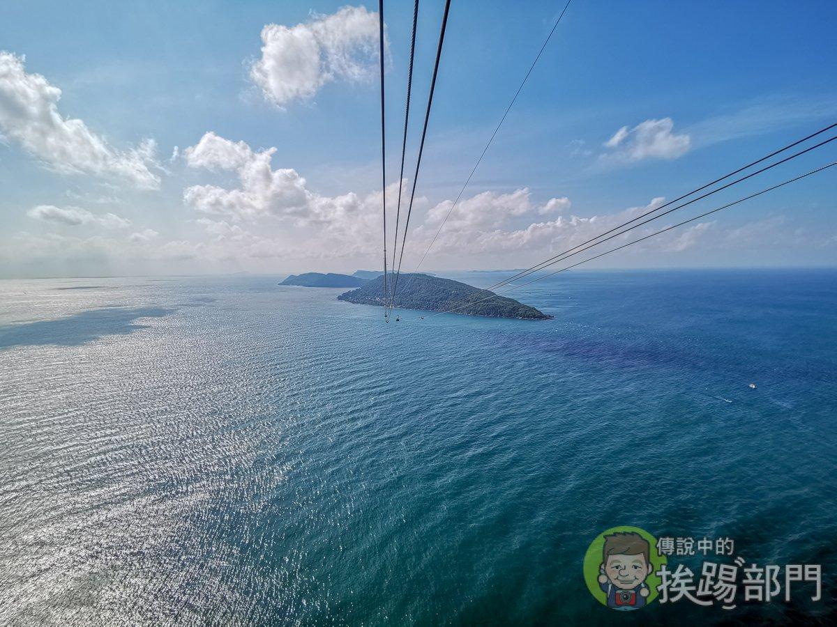 富國島跨海纜車