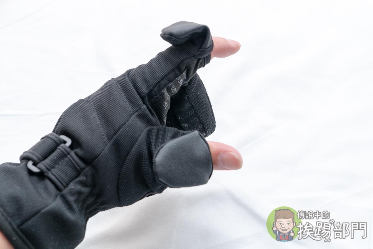 攝影防寒手套可露手指