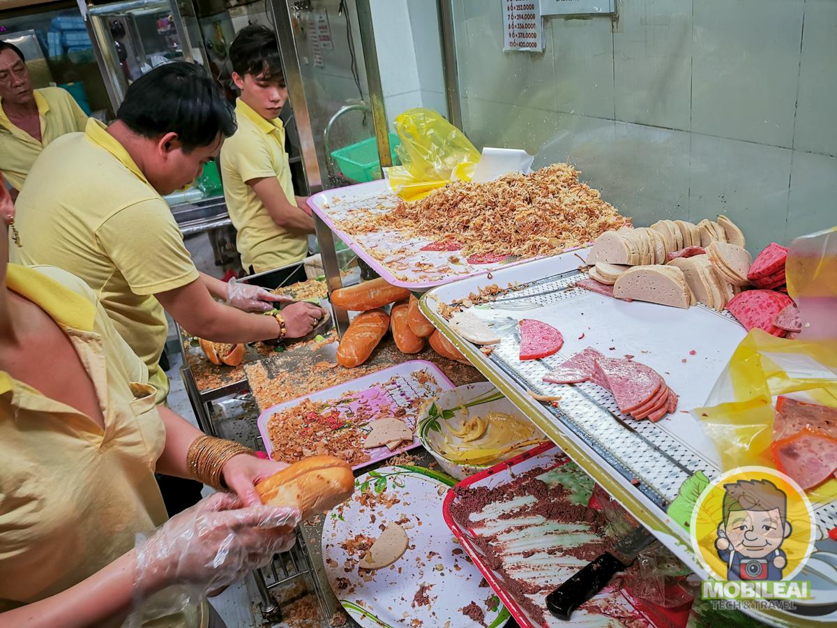 越式豬肝醬法國麵包 Bánh mì Huỳnh Hoa
