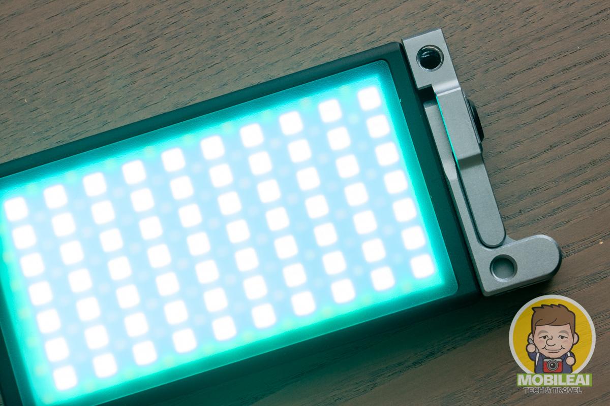 柏靈 P1 可攜式小型 RGB 全彩 LED 補光燈