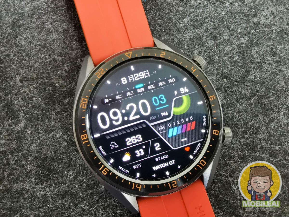 HUAWEI Watch GT 錶面 HWT 檔案下載
