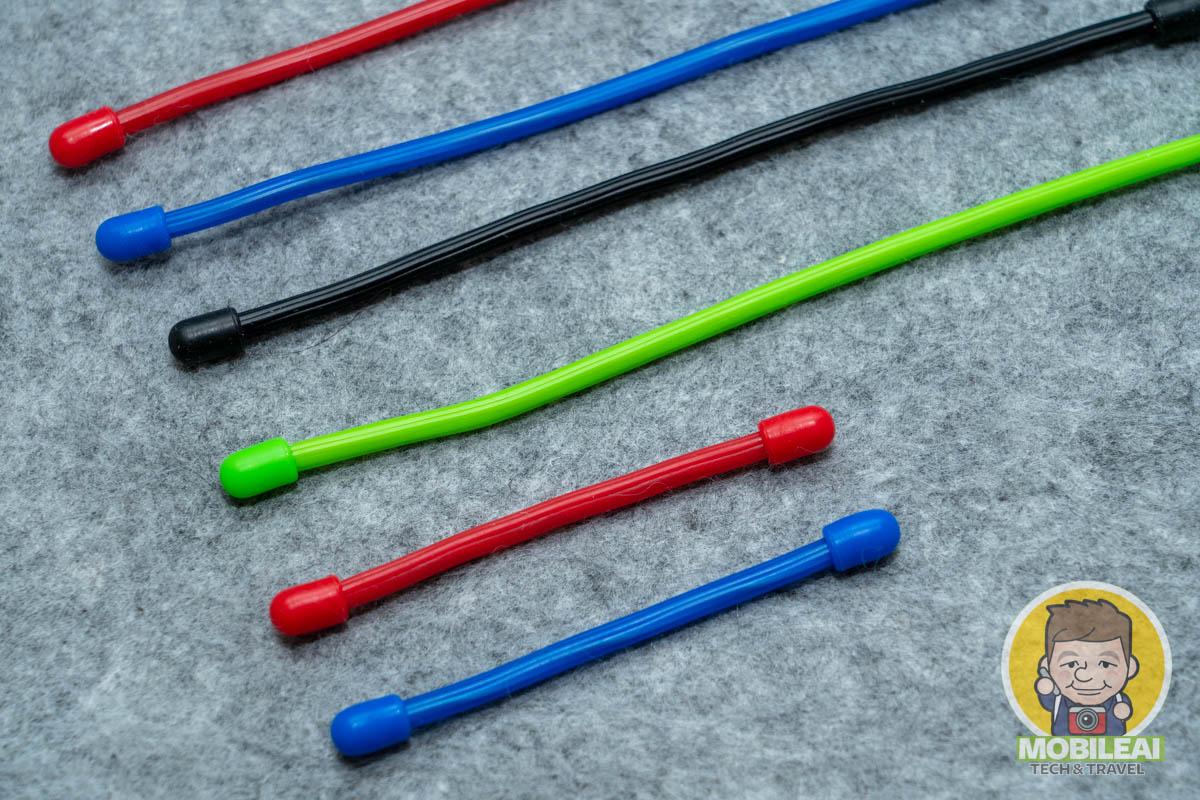 矽膠束線帶
