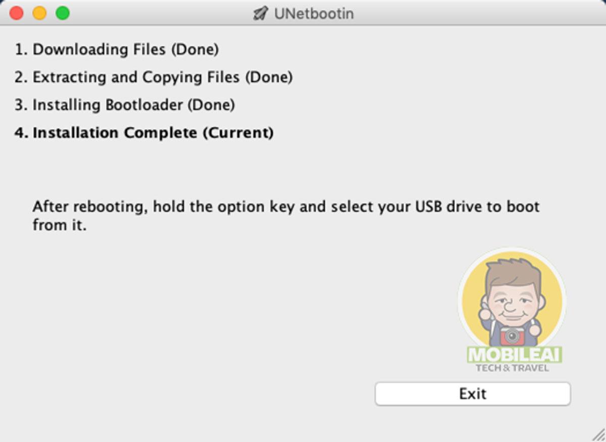 macOS  製作 USB 開機隨身碟