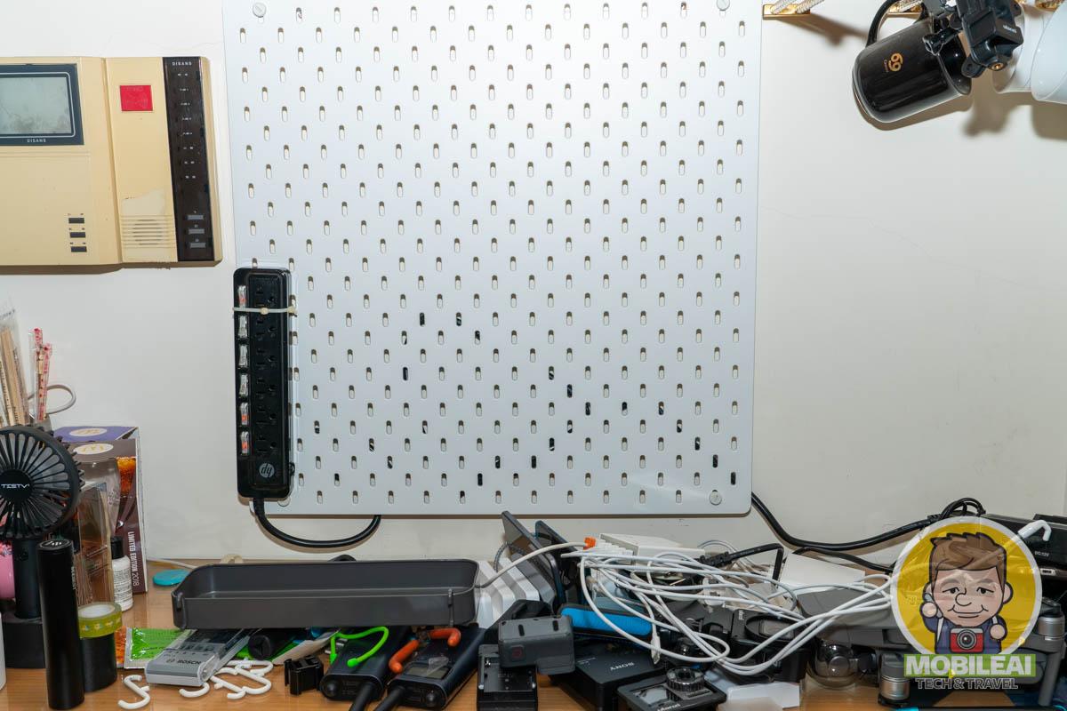 IKEA SKÅDIS 收納壁板