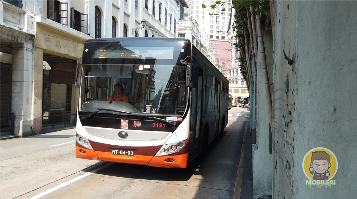 澳門巴士公車即時資訊、巴士站、路線查詢的好工具