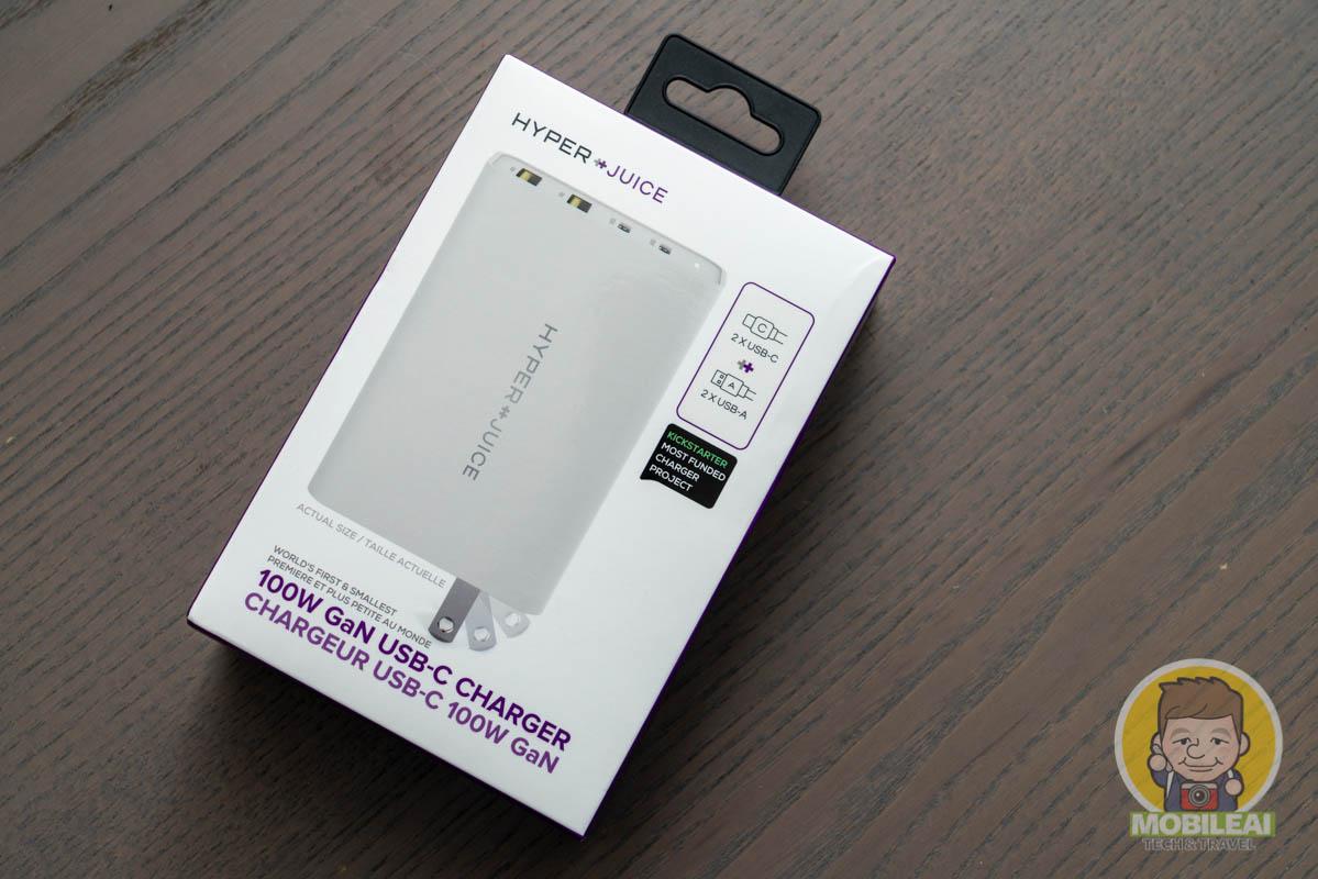 開箱實測 HyperJuice 100W GaN USB-C Charger