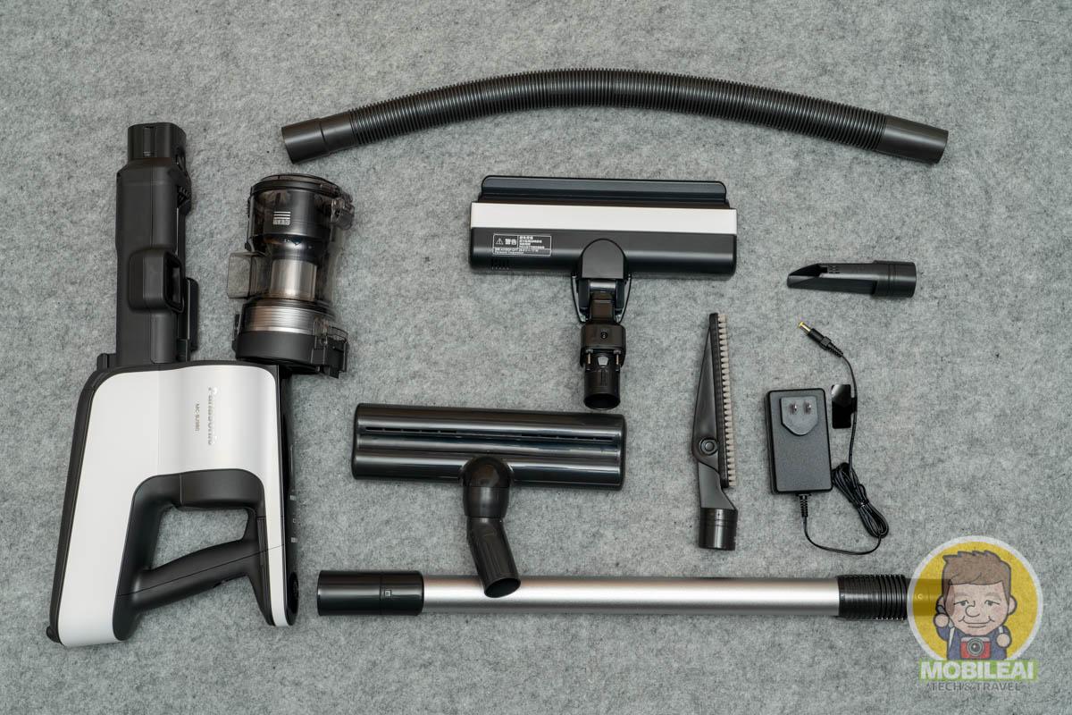 Panasonic無線手持吸塵器 MC-BJ980