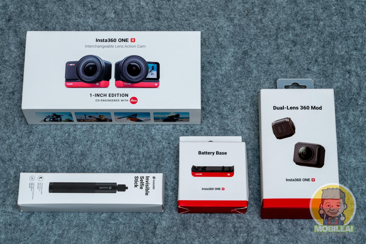 開箱實測 Insta360 ONE R 1英吋感光元件套裝