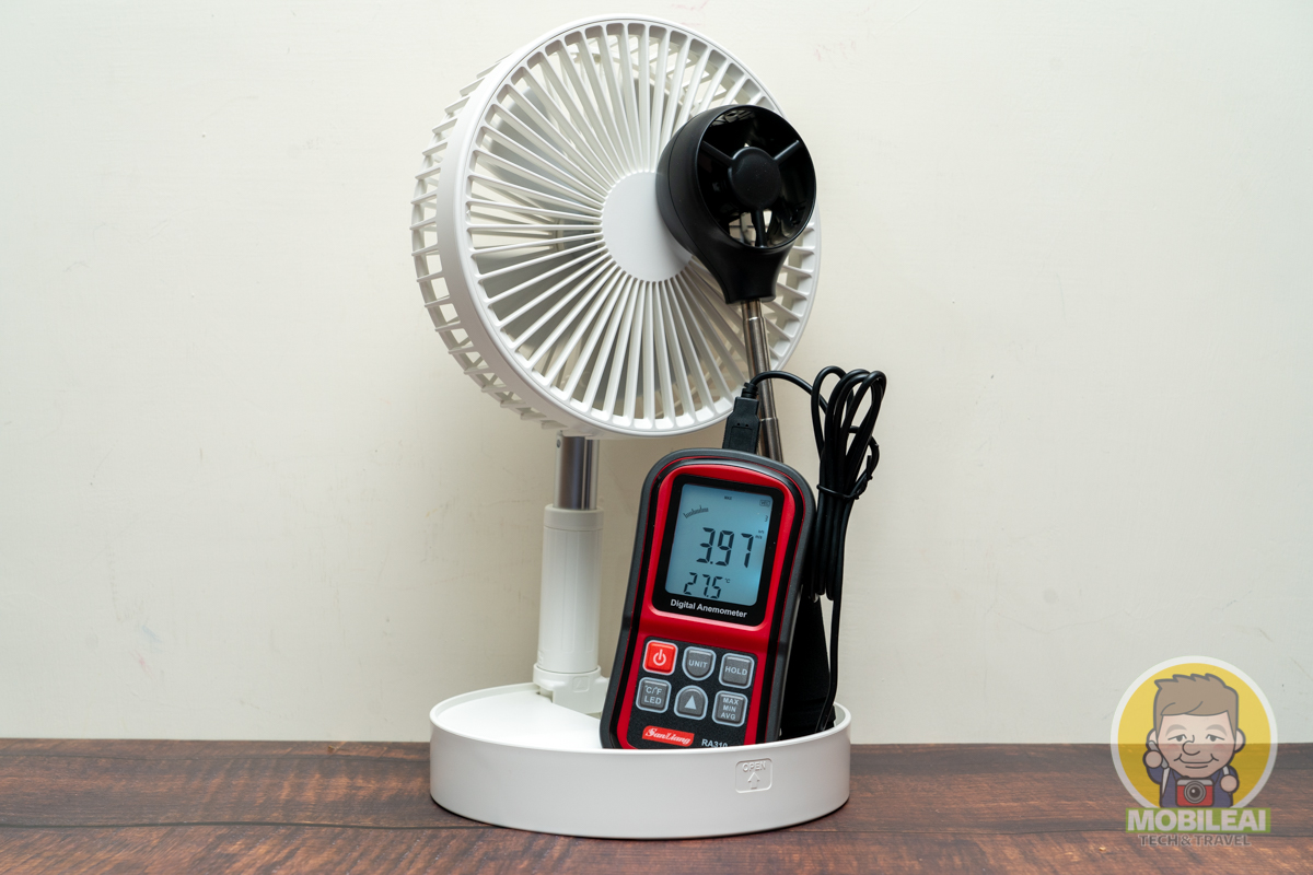 露營、烤肉、陪考、野餐必備消暑神器!ADYSS P9s 收納摺疊風扇