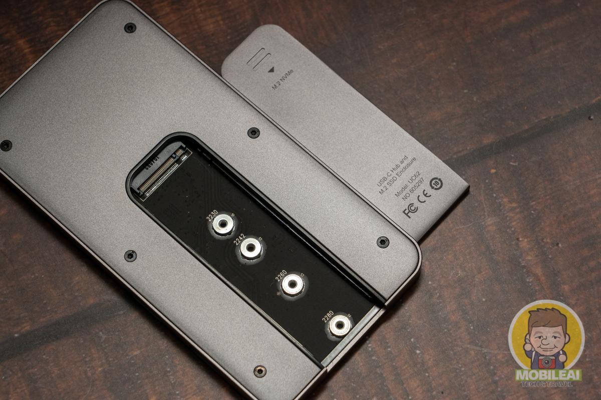 海備思 M.2 NVME SSD Type-C Hub