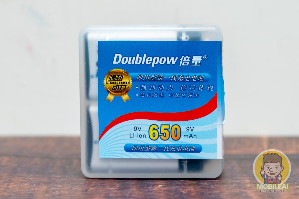 Doublepow 倍量 9V充電鋰電池