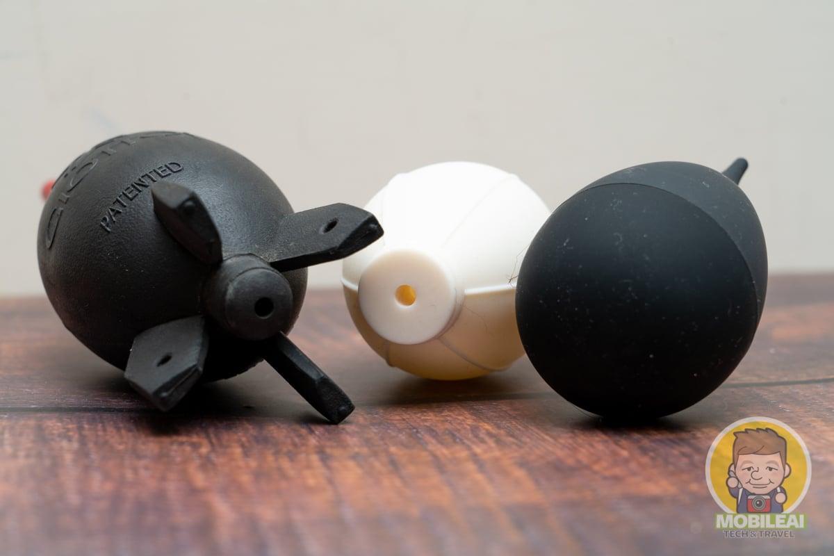 單向進氣的 VSGO 小倒蛋避塵吹塵球