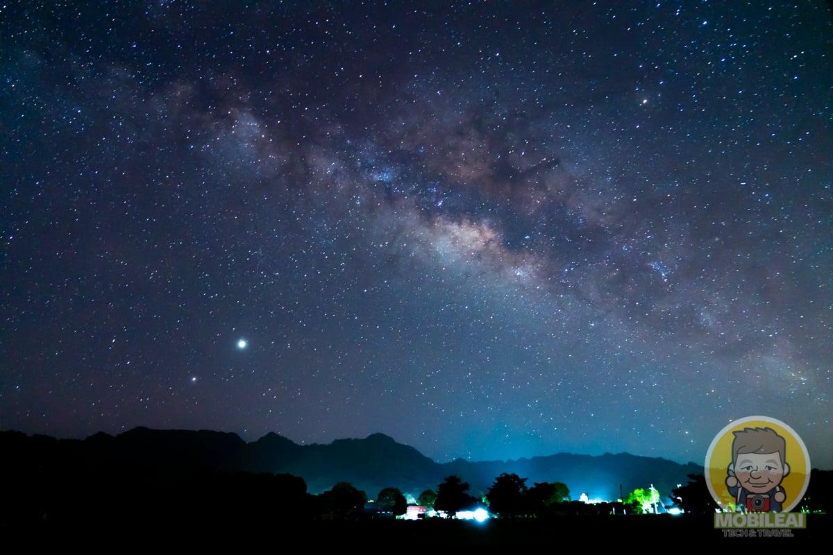 HUAWEI 手機銀河拍攝教學