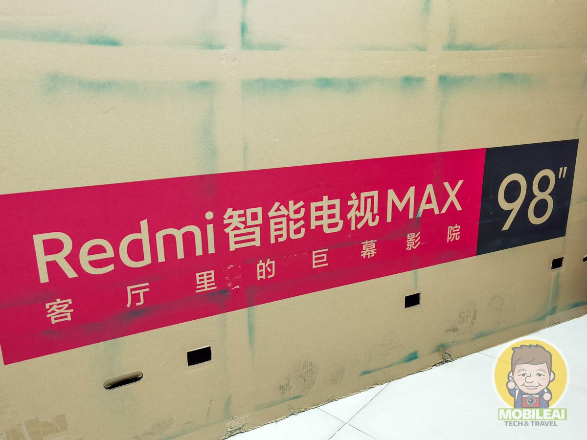 Redmi 智能電視MAX 98 開箱文