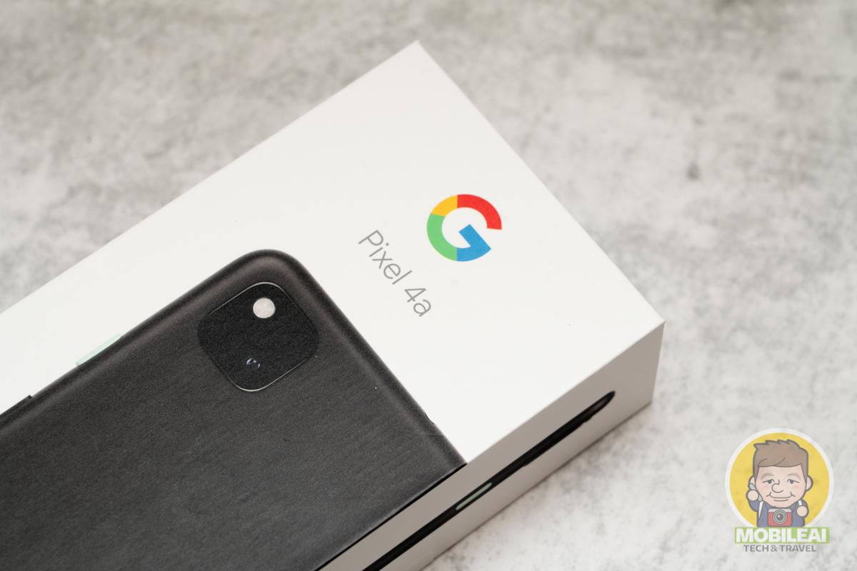 Google Pixel 4a 開箱