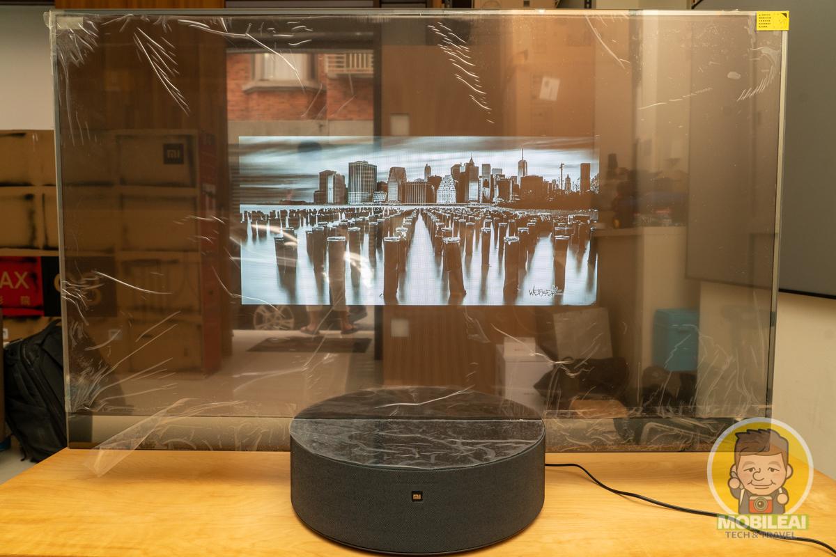 小米透明電視 55吋開箱實測