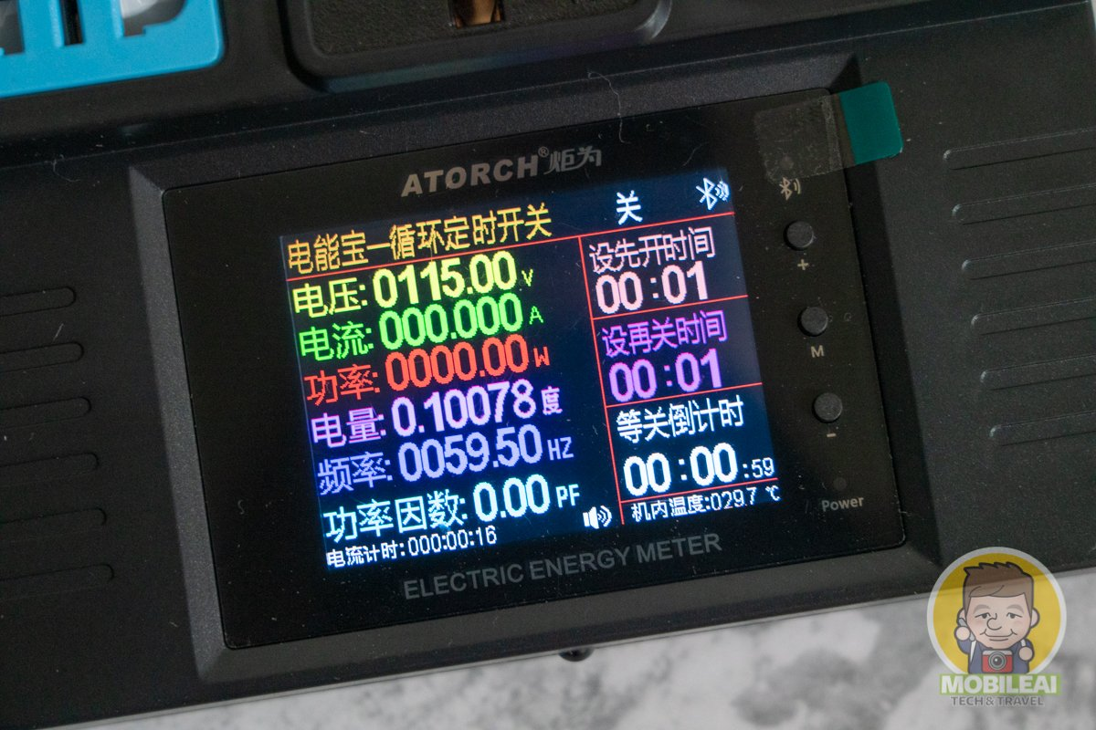 炬為 JL24 AC 110~220V 交流數位電流電壓功率錶