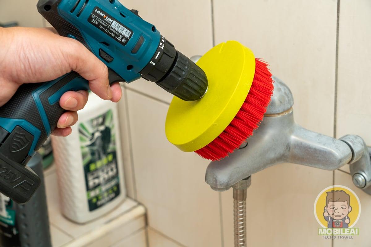 浴室不鏽鋼水龍頭陳年水垢該如何去除?