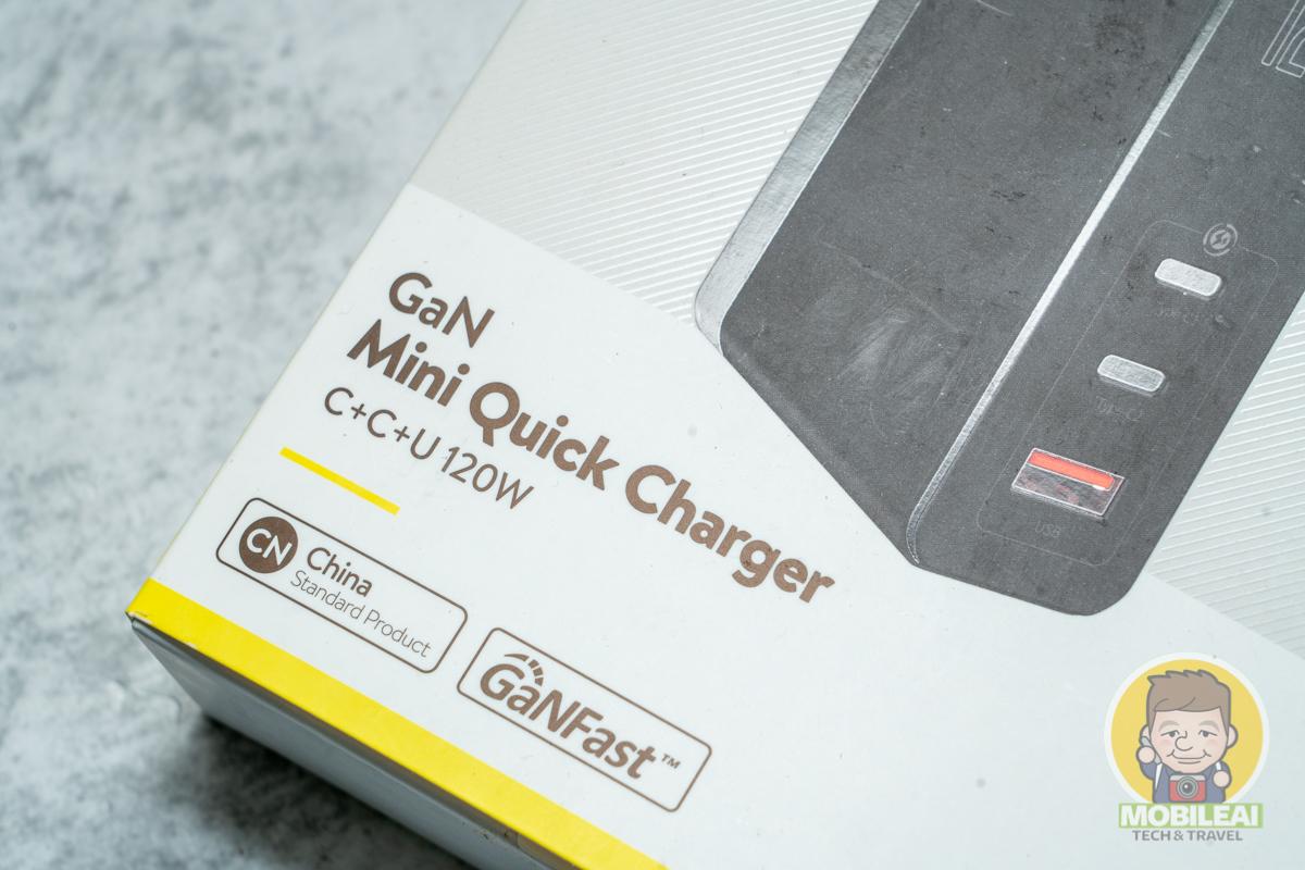 Baseus GaN Mini Quick Charger C+C+U 120W 充電器