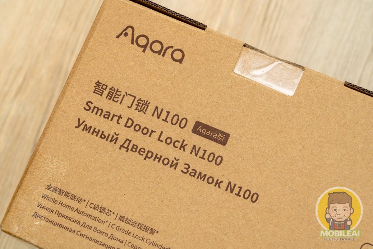開箱 Aqara 智能門鎖 N100 Zigbee國際版