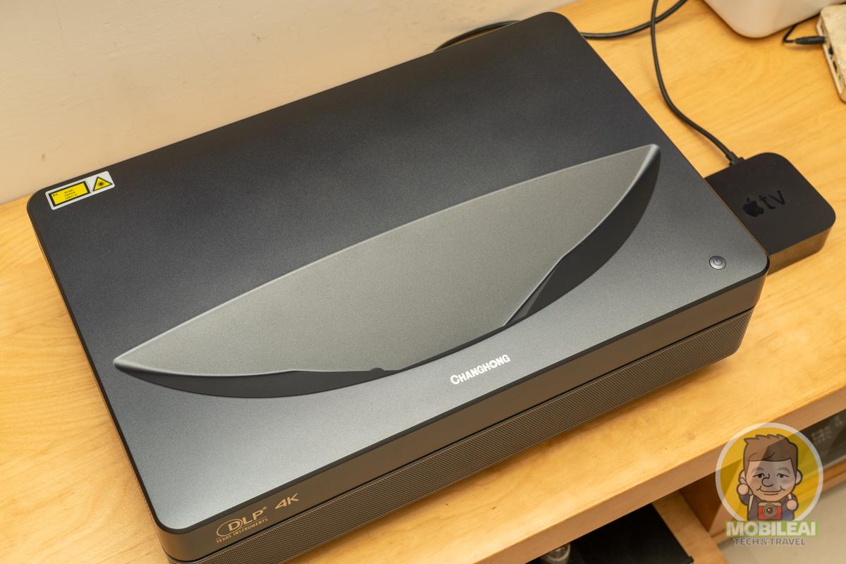 開箱長虹 D7U 3700流明雷射短焦投影機