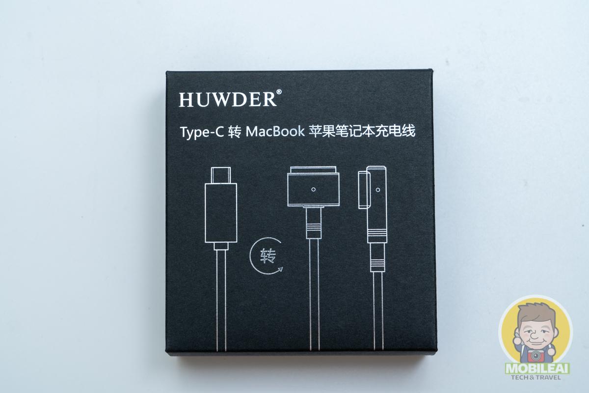 HUWDER Type-C 轉 MacBook MagSafe、MagSafe2充電線