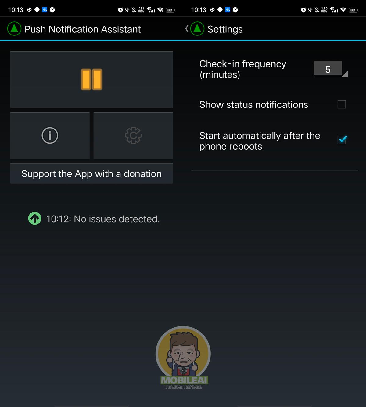 Push Notification Assistant 來解決陸版手機 LINE、Facebook、IG 不會跳通知的小工具